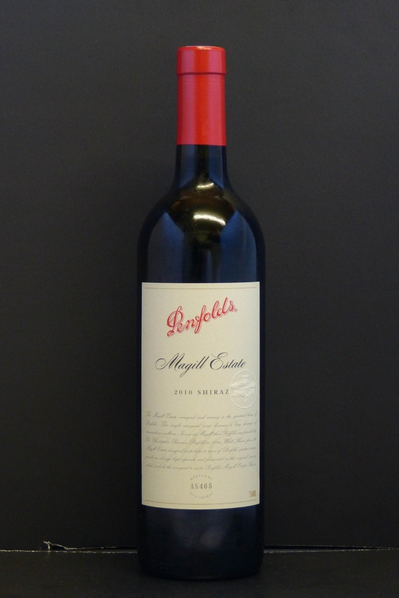 "2010er Penfolds ""Magill Estate"" Shiraz 0,75 Ltr"