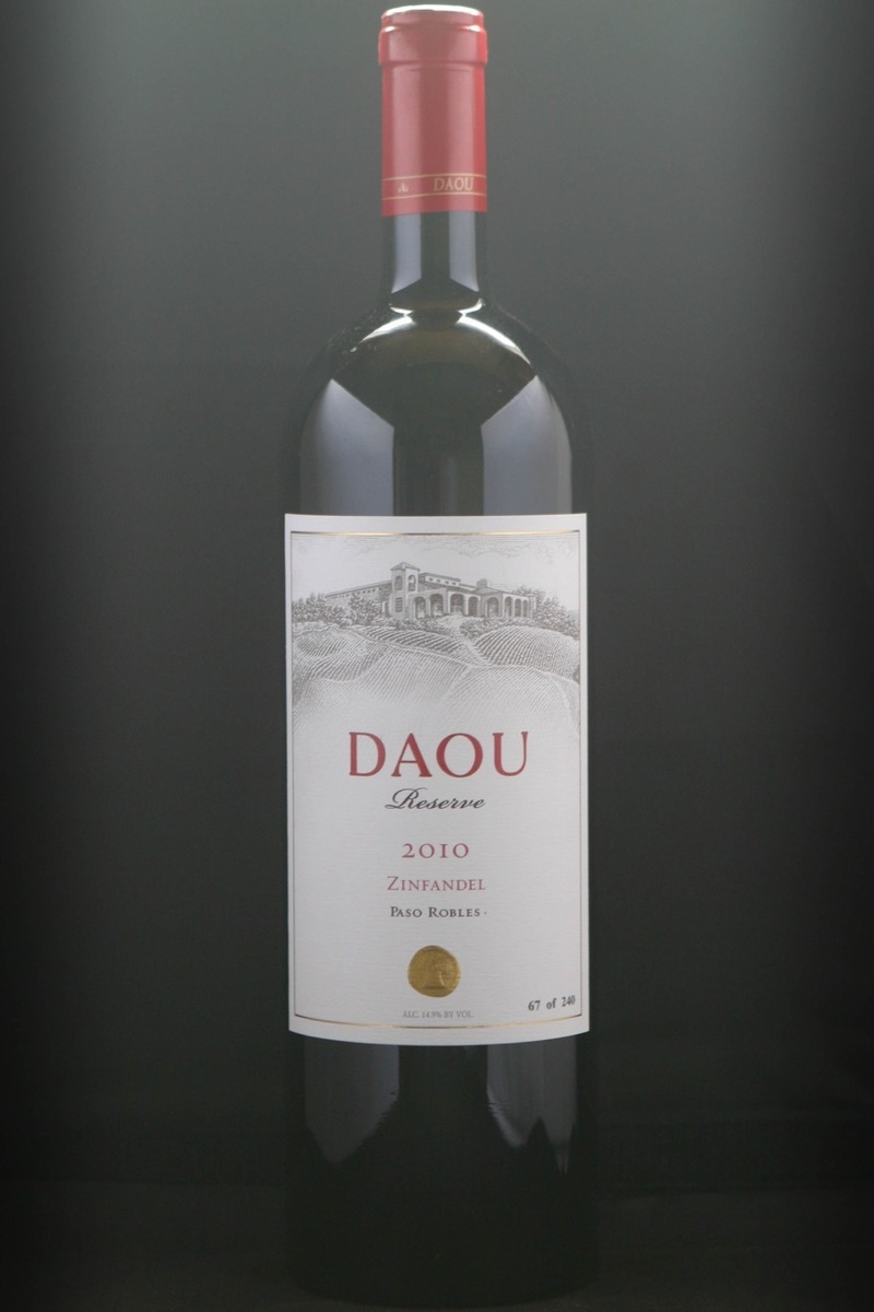 2010er Daou Vineyard Zinfandel Reserve Paso Robles Collection 12,5 %Vol Magnum 1,5Ltr