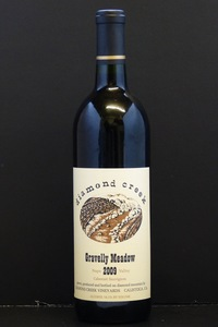 "2009er Diamond Creek ""Gravelly Meadow"" (Cabernet Sauvignon) Diamond Mountain 0,75 Ltr"