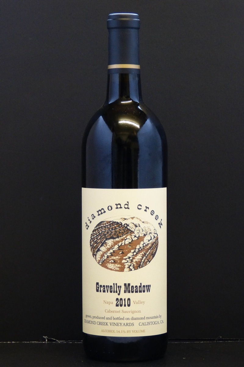 "2010er Diamond Creek ""Gravelly Meadow"" (Cabernet Sauvignon) Diamond Mountain 0,75 Ltr"