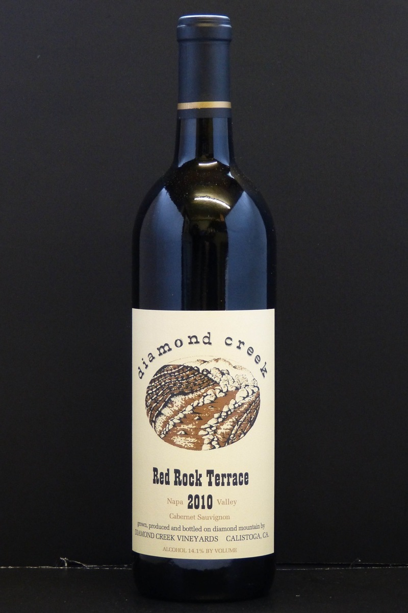 "2010er Diamond Creek ""Red Rock Terrace"" (Cabernet Sauvignon) Diamond Mountain 0,75 Ltr"