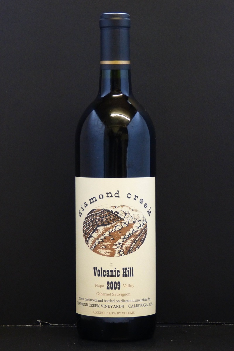 "2009er Diamond Creek ""Volcanic Hill"" Cabernet Sauvignon Diamond Mountain 14,0 %Vol 0,75Ltr"