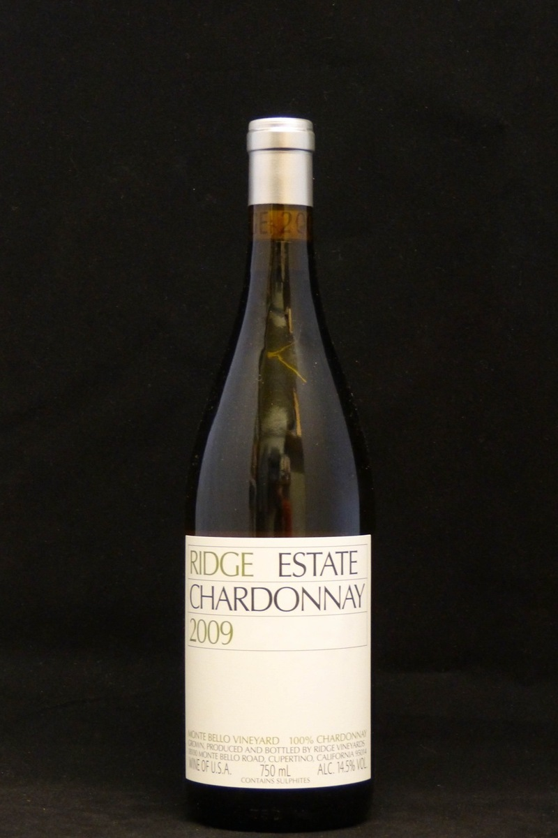 2009er Ridge Estate Chardonnay 14,5 %Vol 0,75Ltr