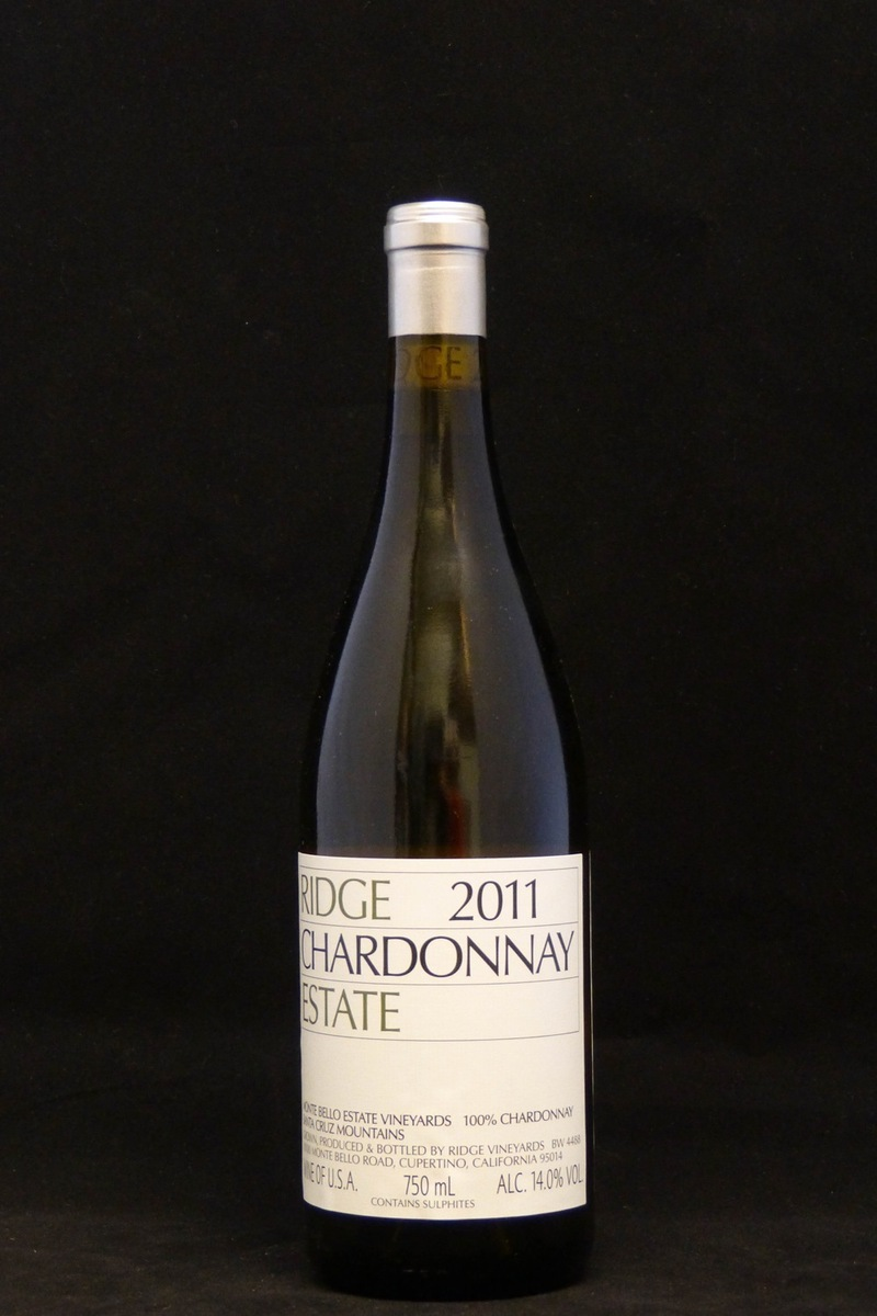 2011er Ridge Estate Chardonnay 14,0 %Vol 0,75Ltr