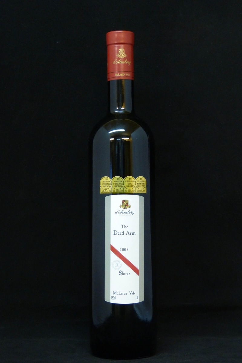 "2008er D´Arenberg Winery ""Dead Arm"" Shiraz 15,0 %Vol Magnum 1,5Ltr"