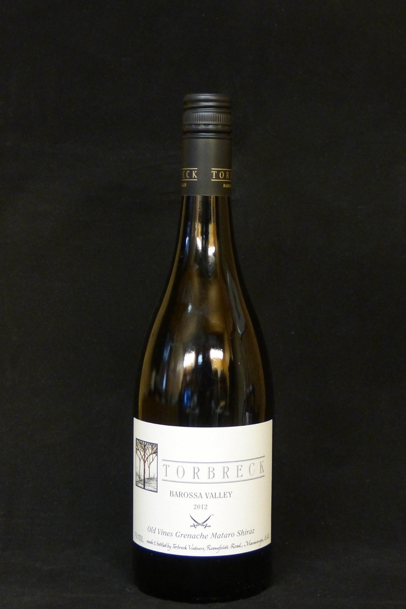 "2012er Torbreck ""The Old Vine"" only Sansibar 15,0 %Vol 0,75Ltr"