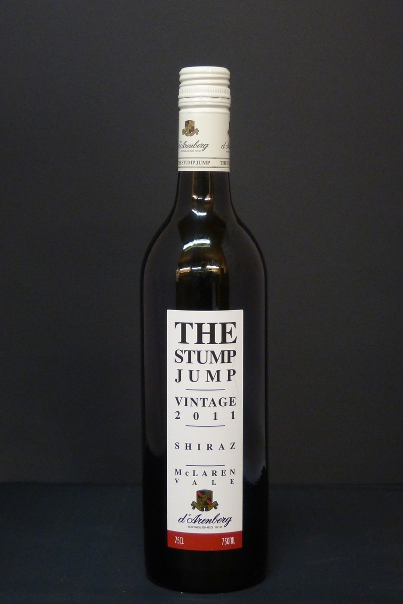 2011er D´Arenberg Winery The Stump Jump Shiraz 0,75Ltr