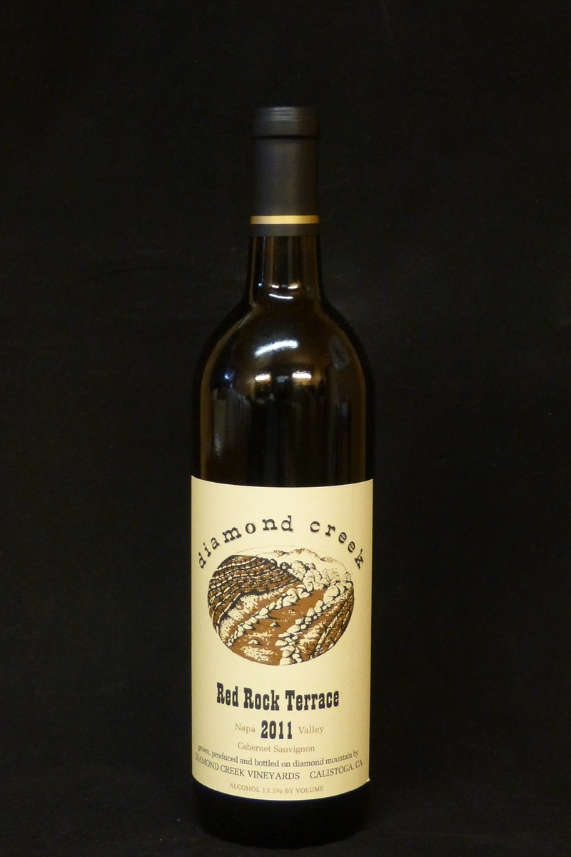 "2011er Diamond Creek ""Red Rock Terrace"" (Cabernet Sauvignon) Diamond Mountain 0,75Ltr"