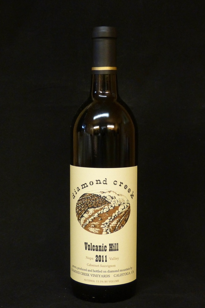 "2011er Diamond Creek ""Volcanic Hill"" Cabernet Sauvignon Diamond Mountain 0,75Ltr"