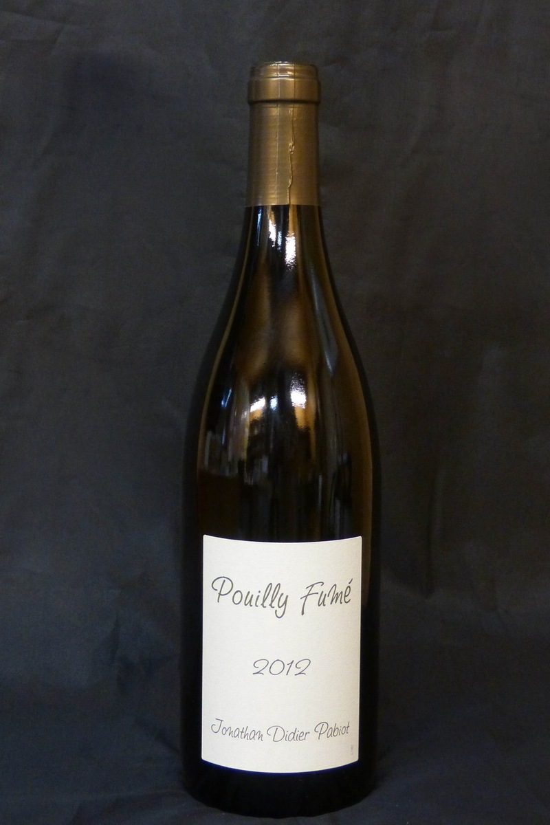 2012er Domaine Jonathan Pabiot Pouilly Fume 12,5 %Vol 0,75Ltr