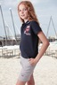 Kinder Poloshirts YACHTING 0212 navy , Gr. 128/134