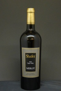 2012er Shafer Merlot 15,0 %Vol 0,75Ltr