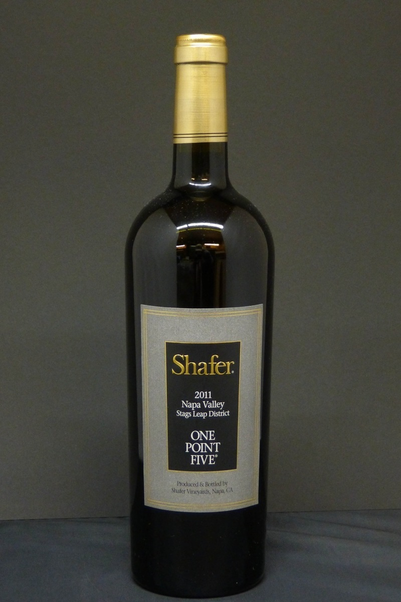 "2011er Shafer ""One Point Five"" Cabernet Sauvignon 0,75l"