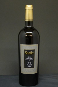 "2011er Shafer ""One Point Five"" Cabernet Sauvignon 15,0 %Vol 0,75Ltr"