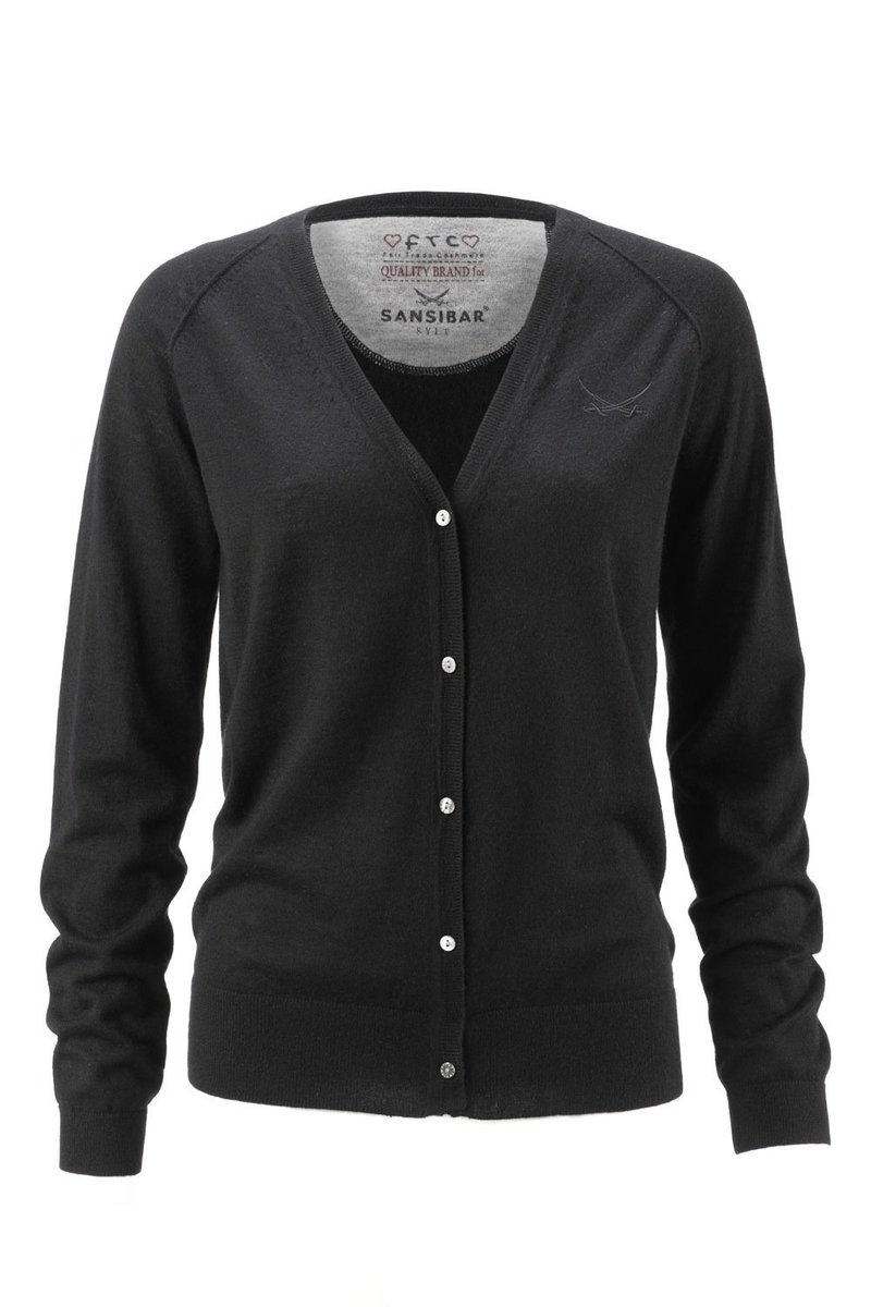 Damen Cardigan (HS1011) 0212, Black, Gr. XL