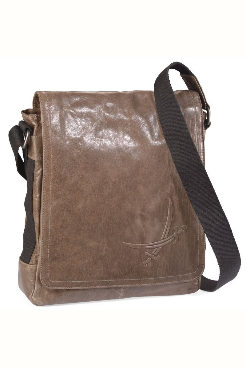 B-021 BA Messenger Bag A4, Khaki, Gr. one size