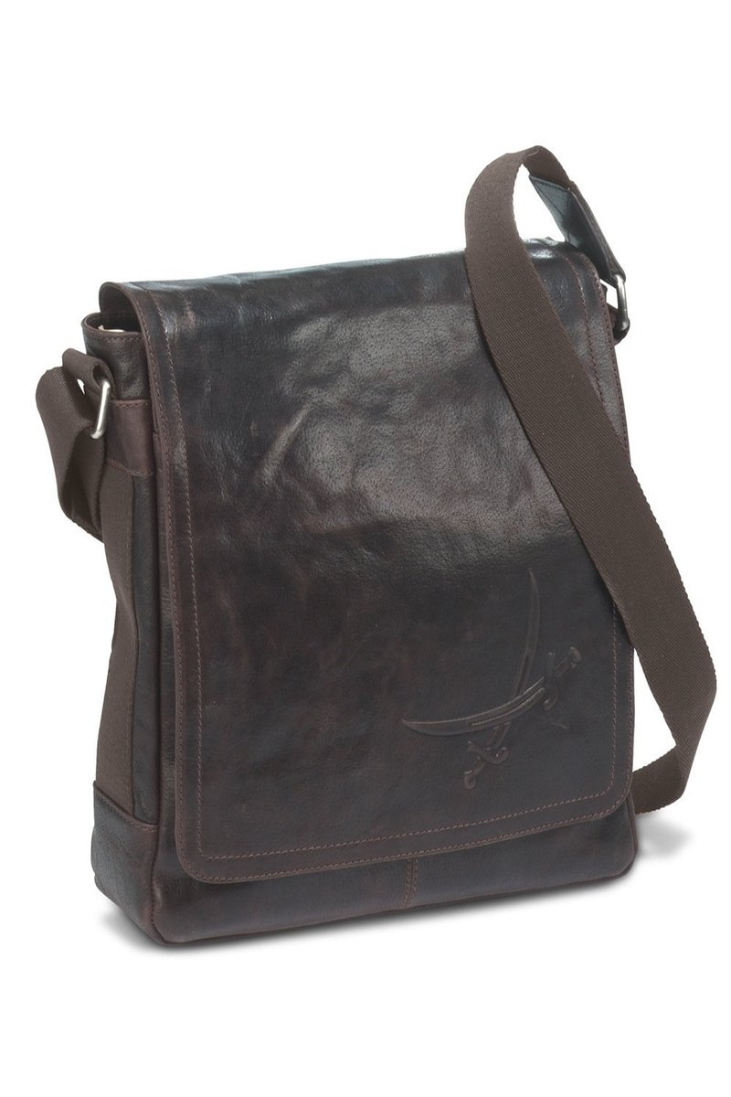 B-021 BA Messenger Bag A4, Espresso, Gr. one size