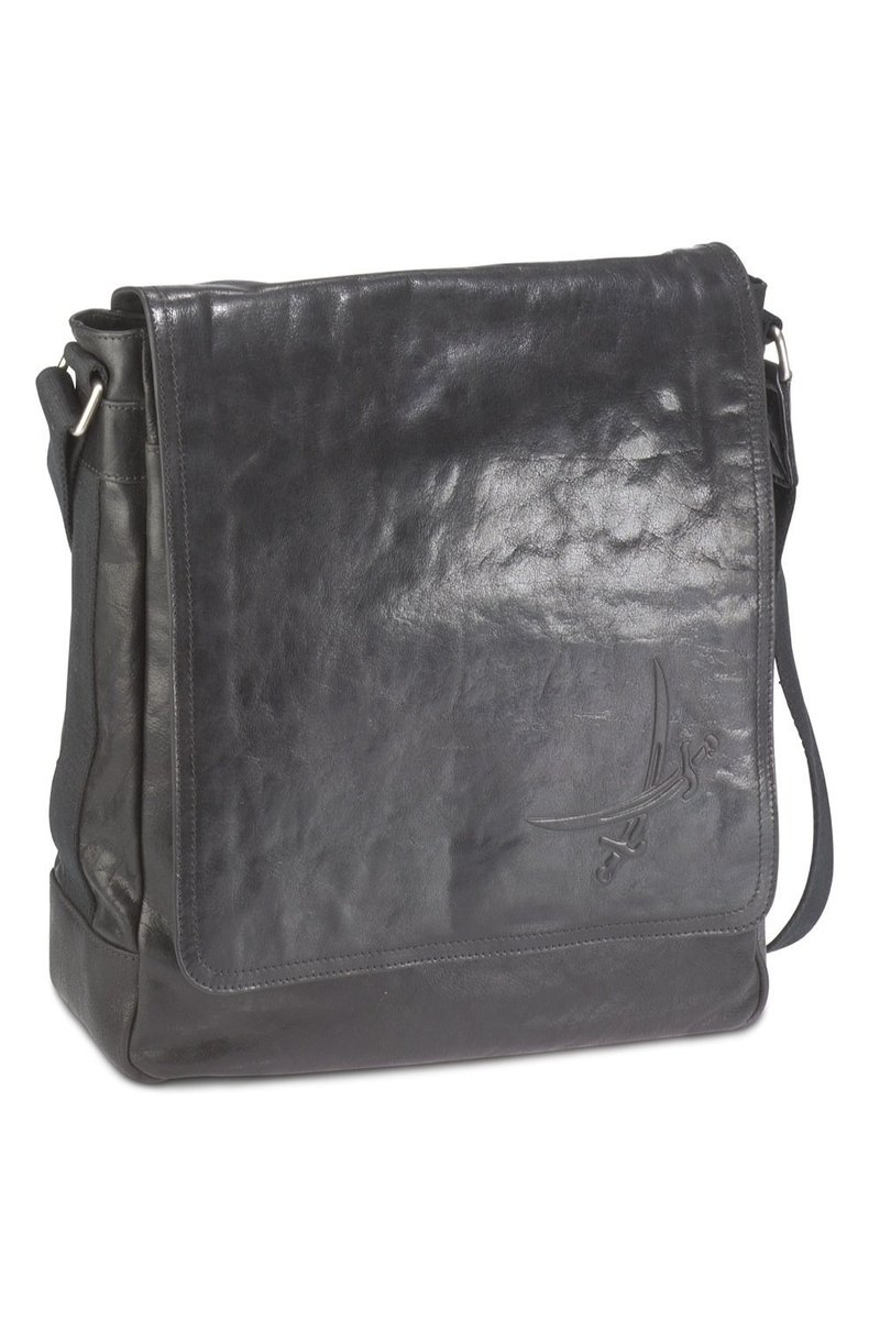 B-022 BA Messenger Bag A4, Black, Gr. one size