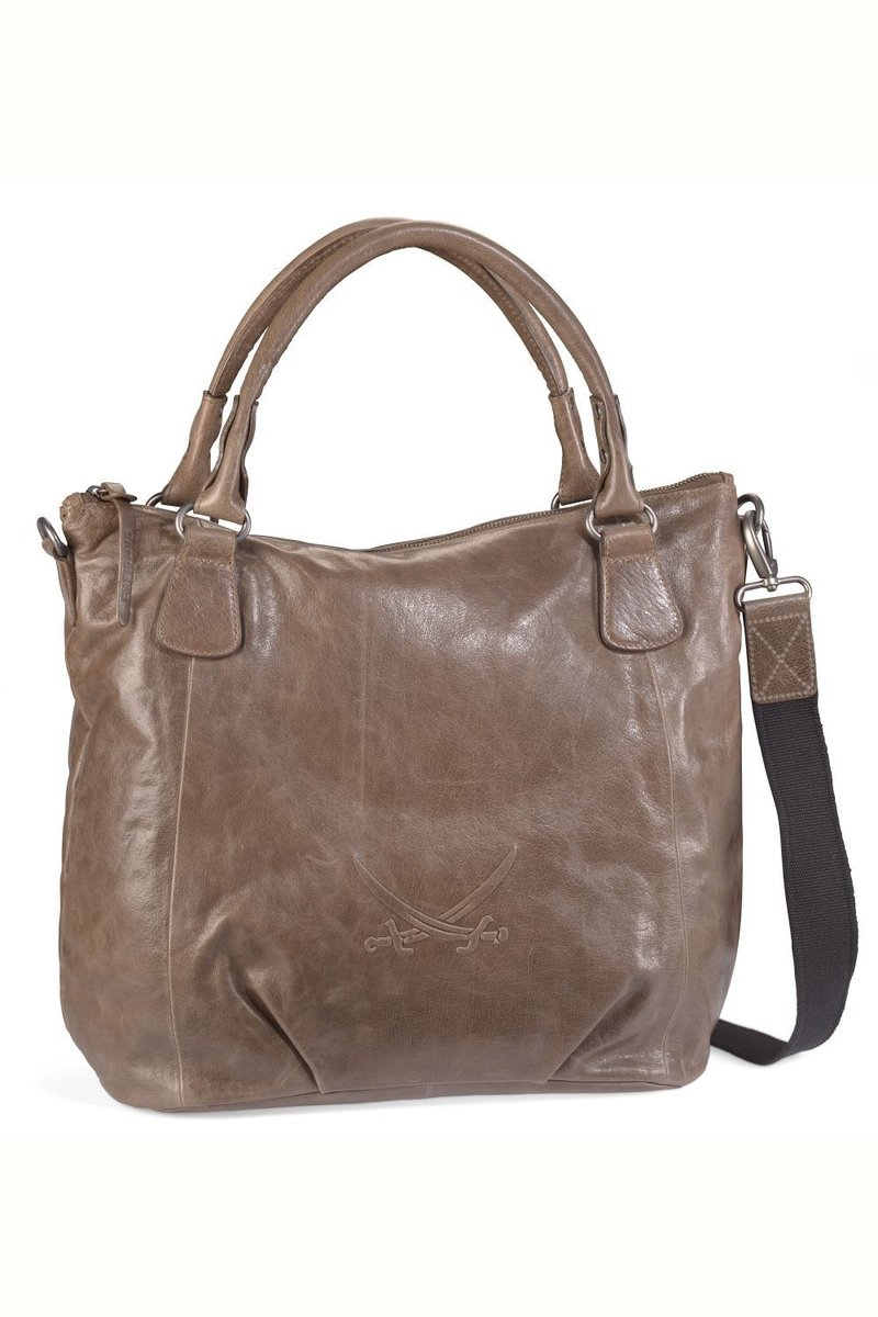 B-023 BA Shopper Bag A4, Khaki, Gr. one size