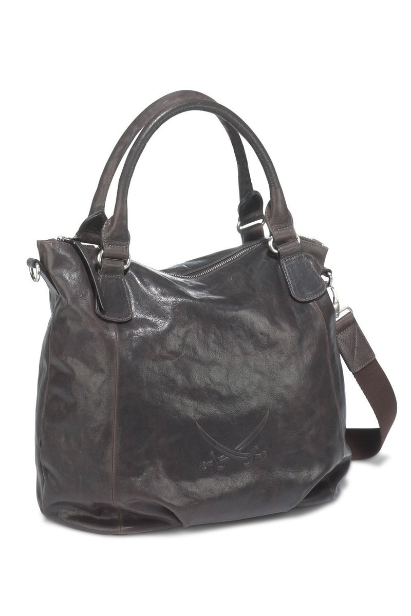 B-023 BA Shopper Bag A4, Espresso, Gr. one size