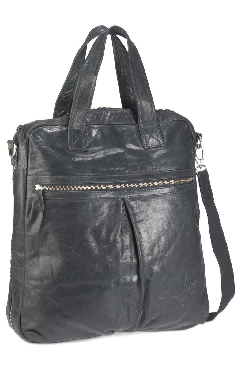 B-025 BA Messenger Bag A4, Black, Gr. one size