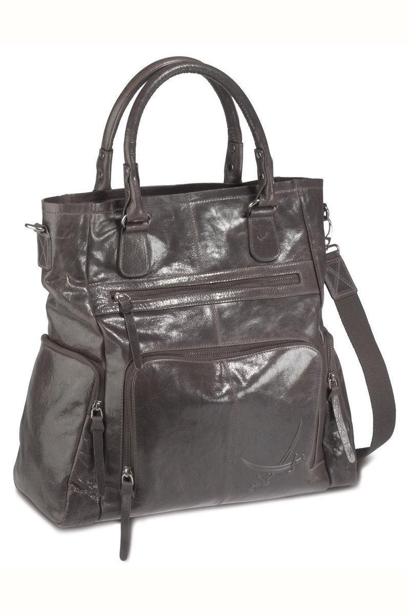 B-040 BA Shopper Bag A4, Espresso, Gr. one size
