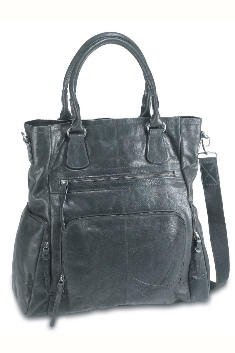 B-040 BA Shopper Bag A4, Black, Gr. one size
