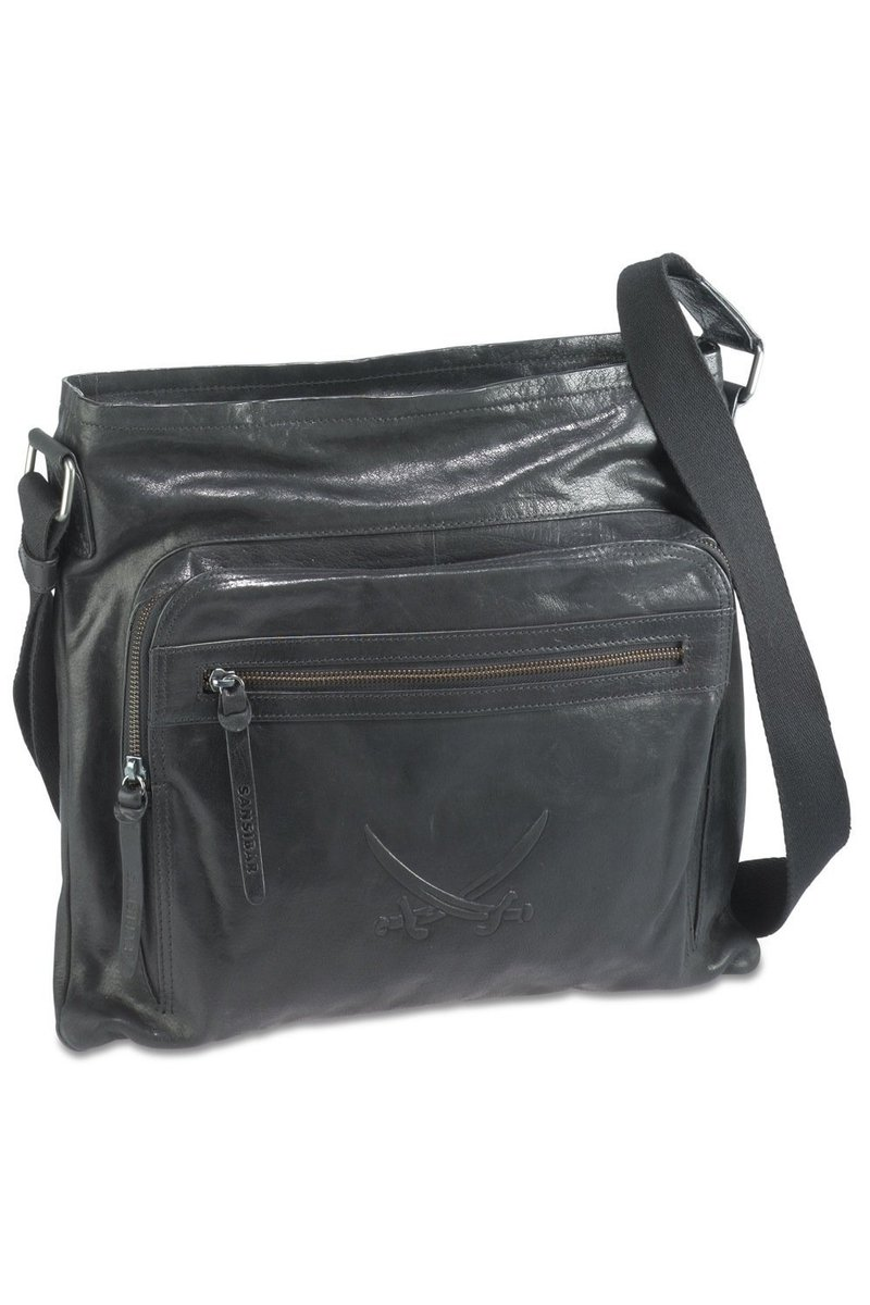 B-042 BA Shoulder Bag , Black, Gr. one size