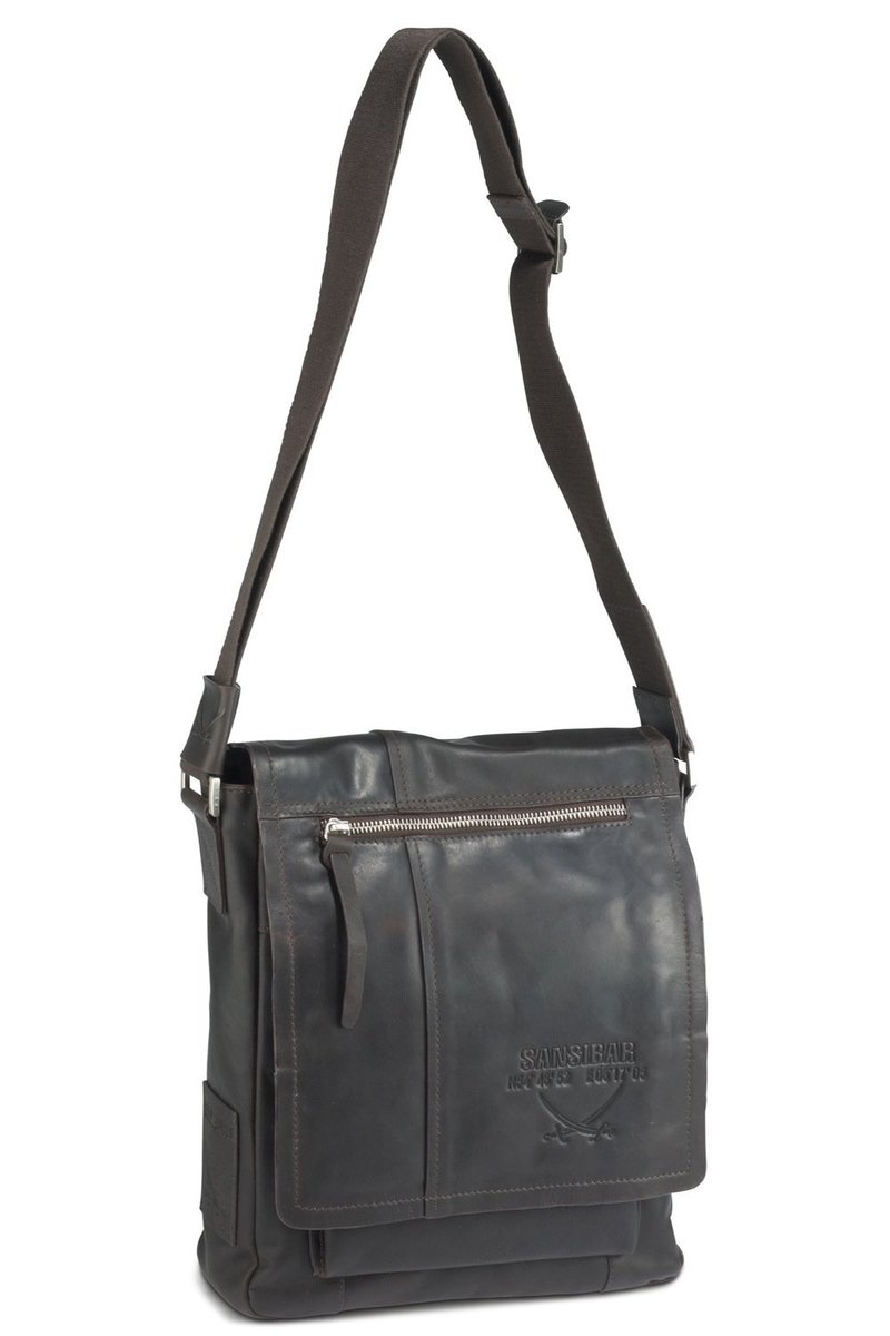B-057 SC Shoulder Bag, Espresso, Gr. one size