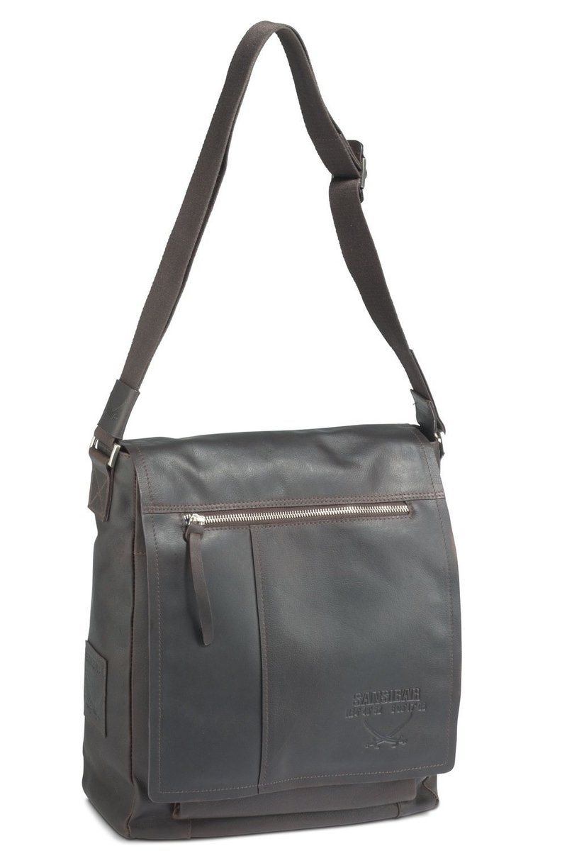 B-058 SC Messenger Bag A4, Espresso, Gr. one size