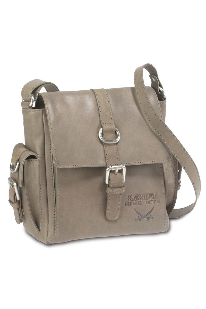 B-075 HA Flap Bag, Taupe, Gr. one size