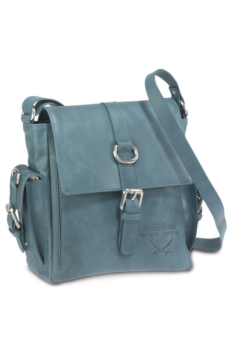B-075 HA Flap Bag, Aqua, Gr. one size