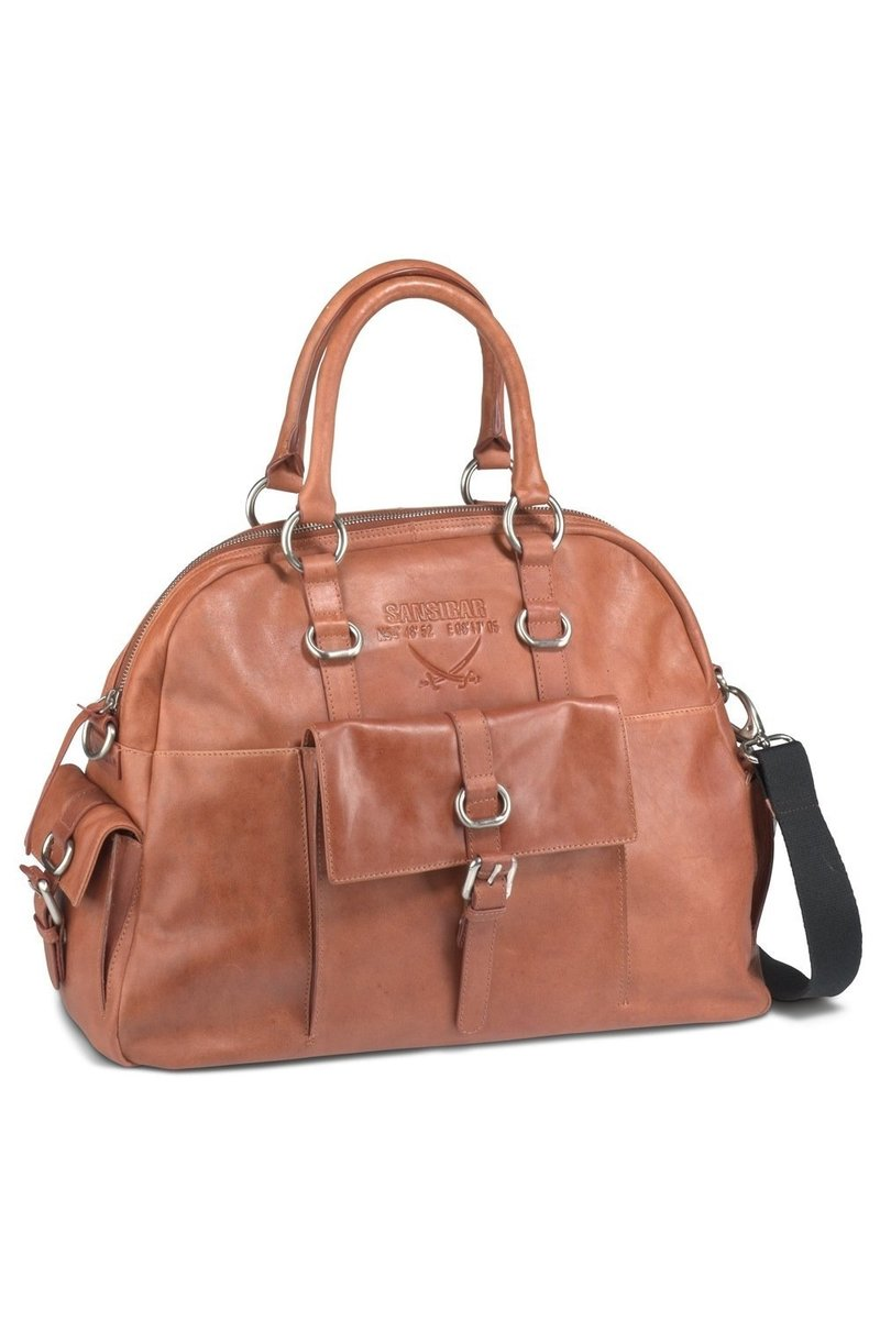 B-081 HA Shopper Bag A4 , Rust, Gr. one size