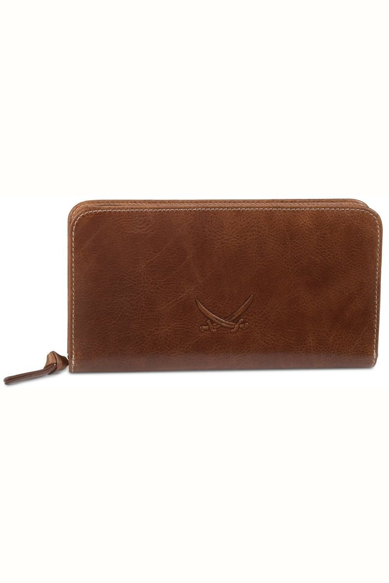 B-084 PO Ladies Wallet, Cognac, Gr. one size