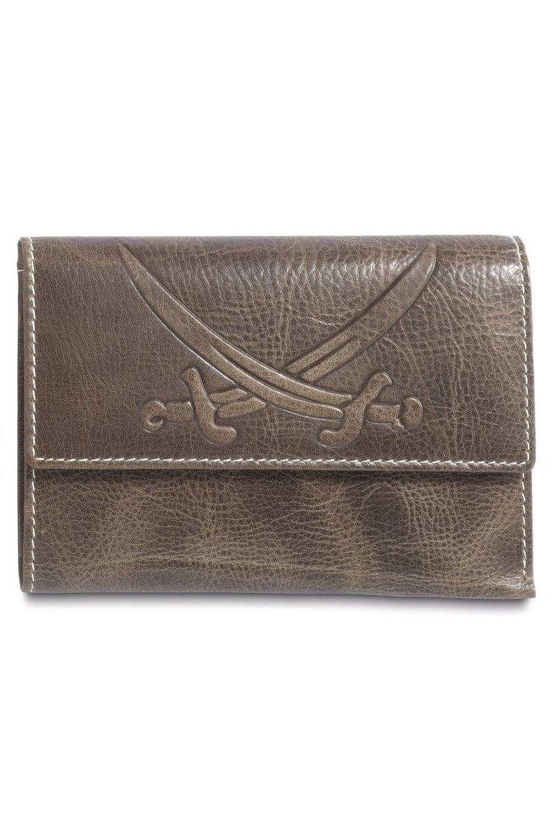 B-085 PO Ladies Wallet, Khaki, Gr. one size