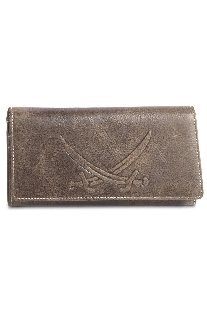B-086 PO Ladies Wallet, Khaki, Gr. one size