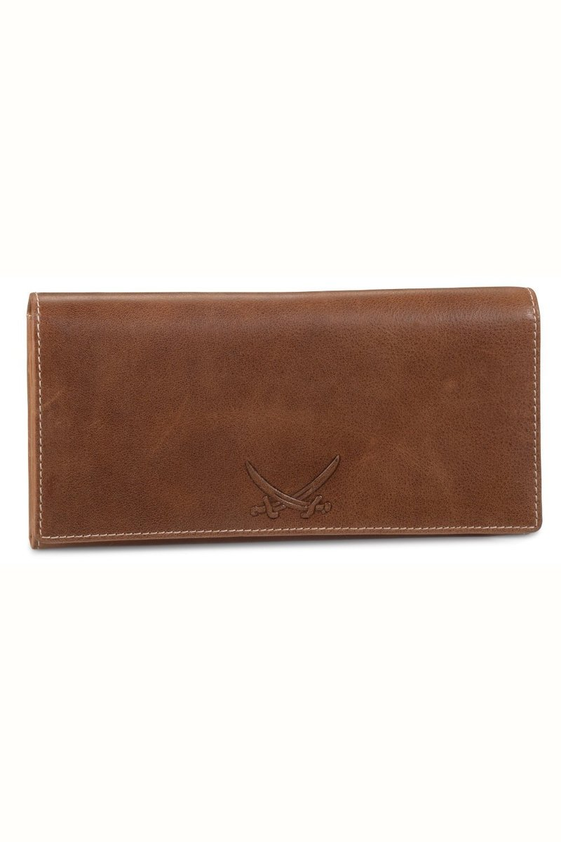 B-086 PO Ladies Wallet, Cognac, Gr. one size