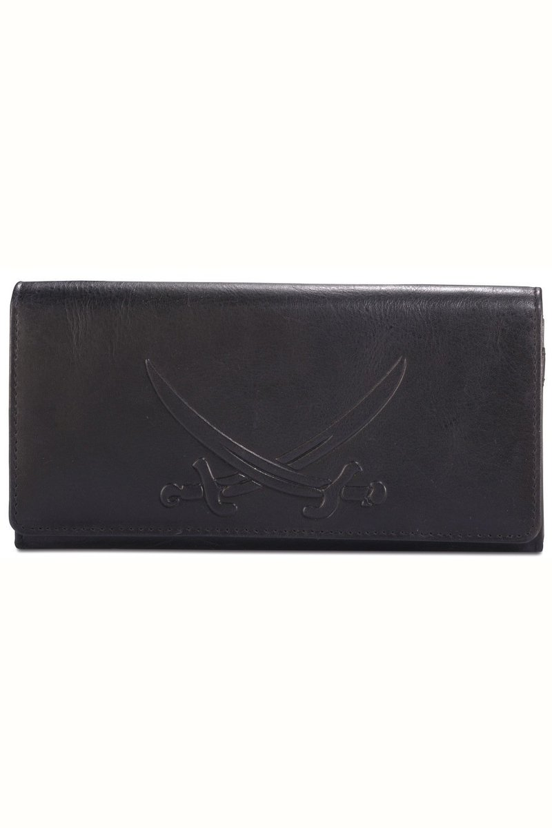 B-086 PO Ladies Wallet, Black, Gr. one size