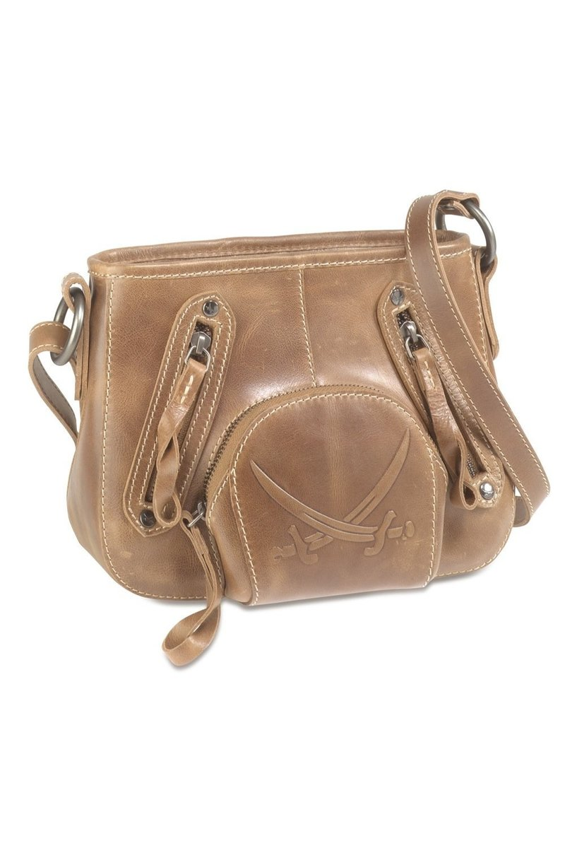 B-096 PO Shoulder Bag, Espresso, Gr. one size