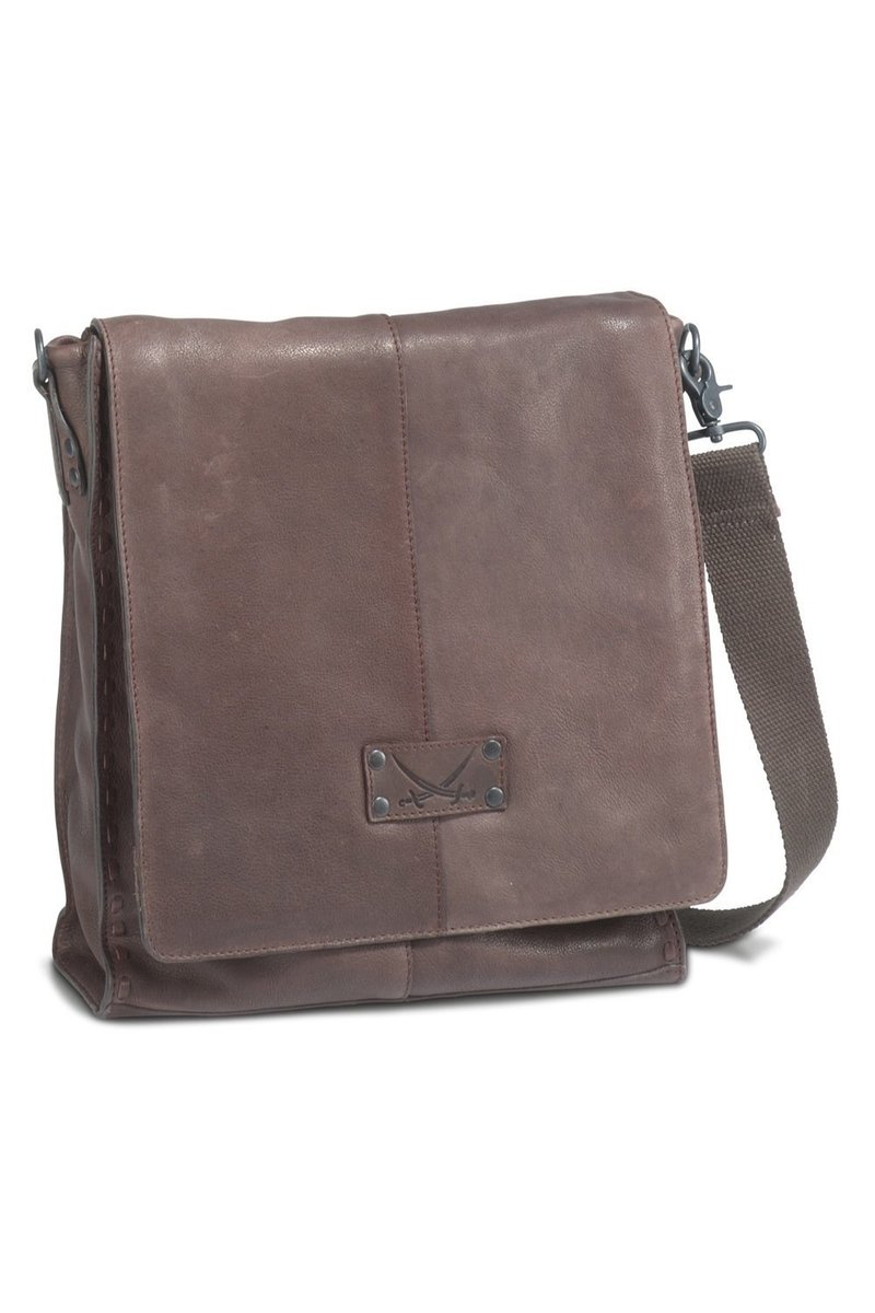 B-100 BT Flap Bag, Espresso, Gr. one size