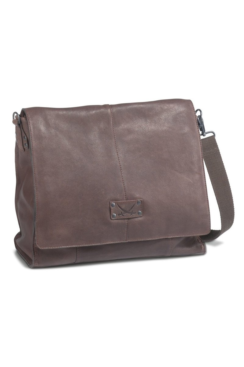 B-101 BT Flap Bag A4, Espresso, Gr. one size