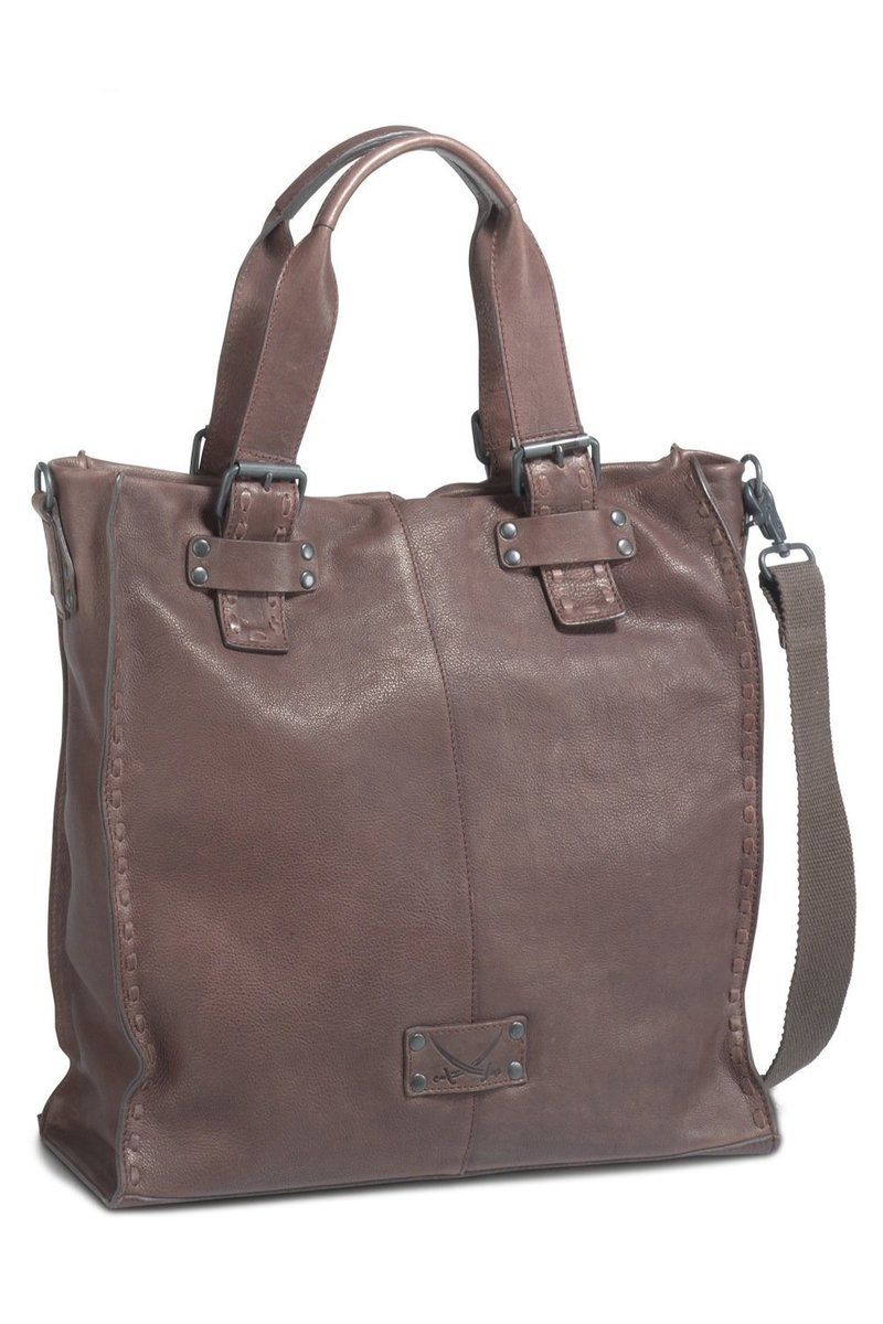 B-103 BT Shopper Bag A4, Espresso, Gr. one size
