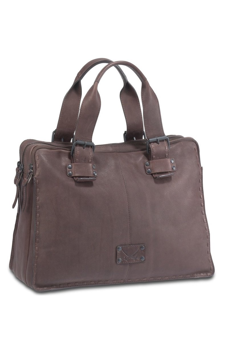 B-106 BT Shopper Bag A4, Espresso, Gr. one size