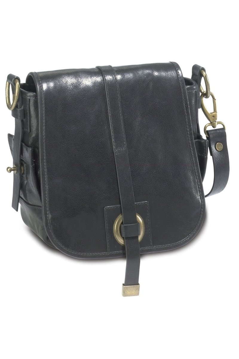 B-122 BY Flap Bag, Black, Gr. one size