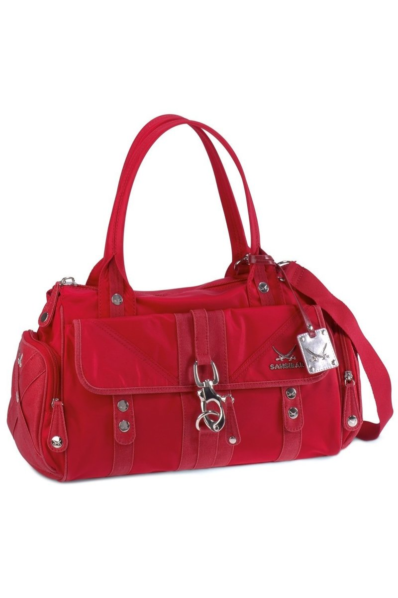 B-336 TY Zip Bag, Red, Gr. one size