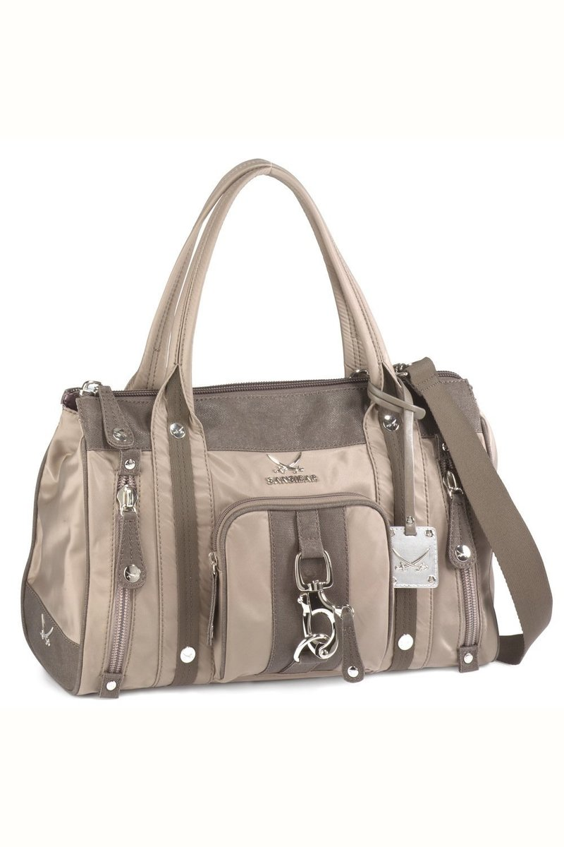 B-339 TY Zip Bag, Taupe, Gr. one size