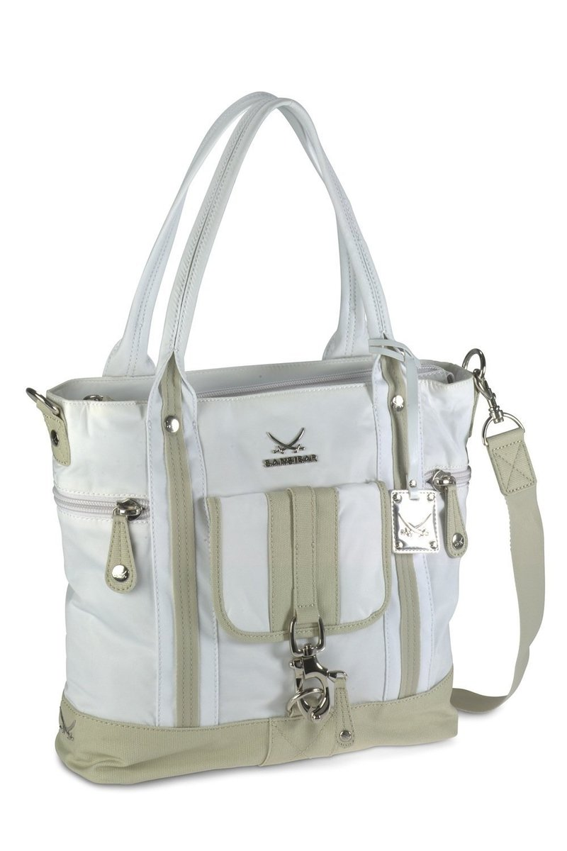 B-340 TY Shopper Bag A4, White, Gr. one size