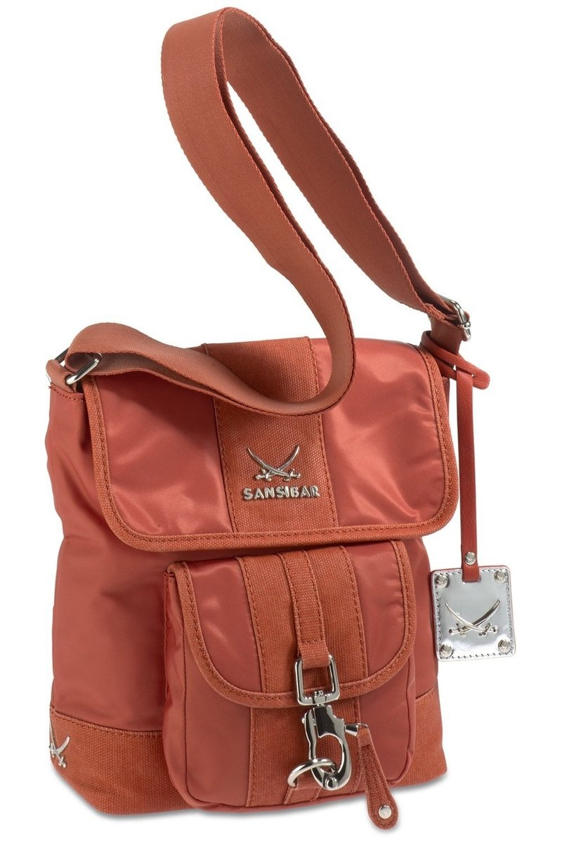 B-341 TY Crossover Bag, Rust, Gr. one size