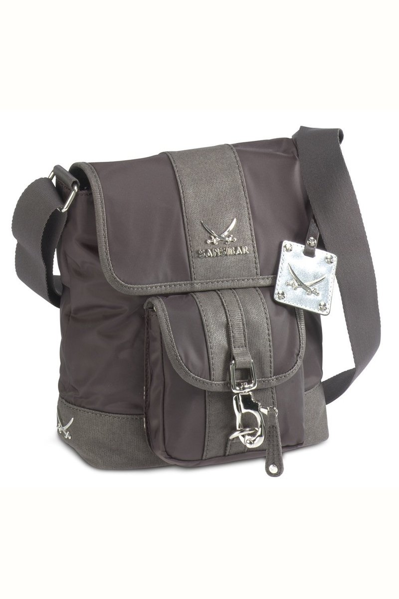 B-341 TY Crossover Bag, Chocolate, Gr. one size