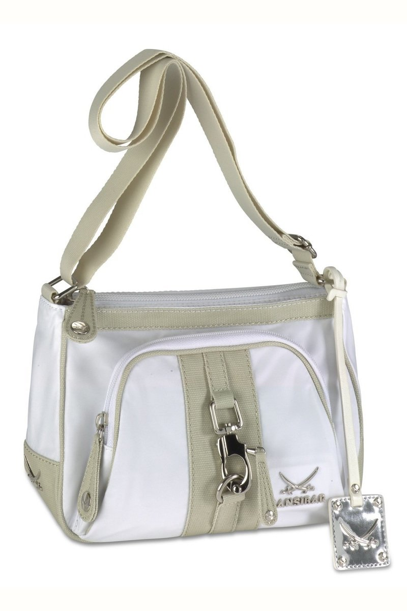 B-343 TY Zip Bag, White, Gr. one size
